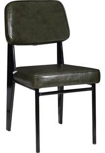 Cadeira Industrial Mkc-058-Marka Móveis - Verde