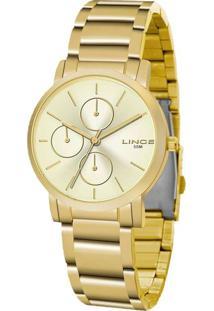 Relógio Feminino Lince Lmg4568L-C1Kx Analógico 5Atm