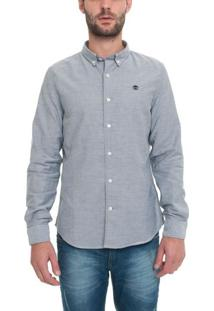 Camisa Manga Longa Rattle River Oxford