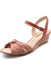 Sandália Dakota Nó Rosa