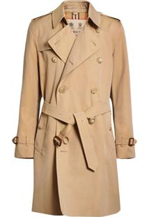 Burberry Trench Coat The Kensington Heritage - Neutro