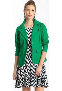 Blazer Clássico Verde
