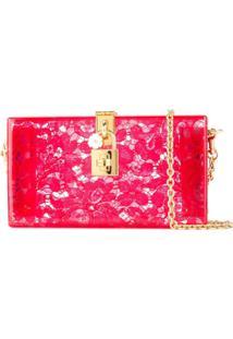 Dolce & Gabbana Bolsa Tiracolo 'Dolce Box' - Vermelho