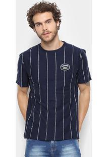 Camiseta Lacoste Detalhe Listras Masculina - Masculino