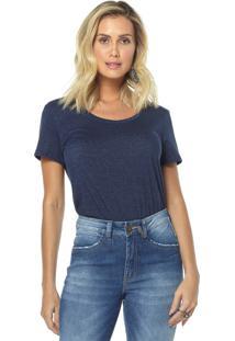 T-Shirt Osmoze 06 Jeans 602110168 Azul - Azul - Feminino - Dafiti