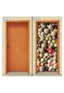Adesivo Decorativo De Porta - Temperos - 1322Cnpt