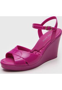 Sandália Petite Jolie Transpasse Pink