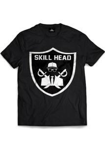 Camiseta Skill Head Shield - Masculino
