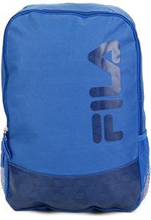 Mochila Fila Watermark - Unissex-Azul Royal