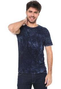 Camiseta Malwee Estonada Azul-Marinho