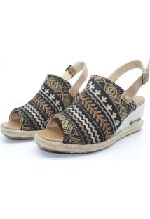 Sandália Barth Shoes Perola Marrom