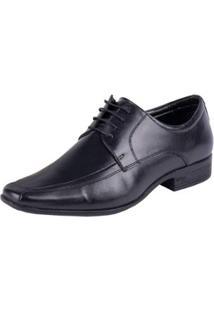 Sapato Social Jota Pe Air King Masculino - Masculino-Preto