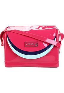 Bolsa Petite Jolie Bloom Bag Feminina - Feminino-Pink