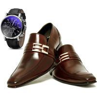 cffecab79 Sapato Fivela Solado De Couro masculino | El Hombre
