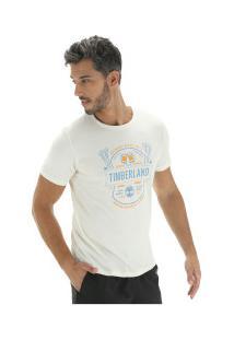 Camiseta Timberland Tbl Brewers - Masculina - Branco