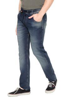 Calça Redley Elástico Azul