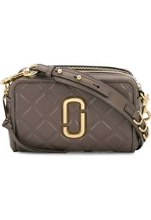 Marc Jacobs Softshot Quilted Crossbody Bag - Cinza