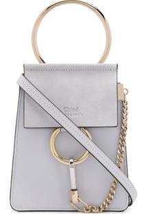 Chloé Small Faye Bracelet Bag - Azul