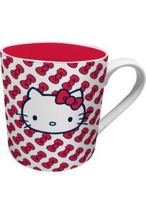 Caneca De Cerâmica Vermelha Hello Kitty Urban Home