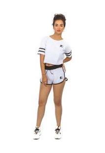 Shorts Starter Feminino - Feminino-Bege