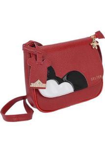 c3956012b ... Bolsa Pequena Transversal Selten Feminina - Feminino-Vermelho