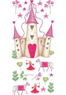 Adesivo De Parede Castelo Princesas Sd Roommates
