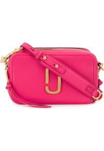 Marc Jacobs Snapshot Shoulder Bag - Rosa