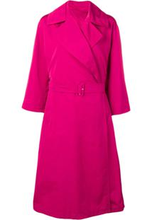 'S Max Mara Trench Coat Failleb - Rosa