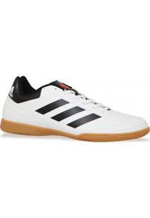 Tenis Adidas Futsal Goletto Vi In Branco Preto