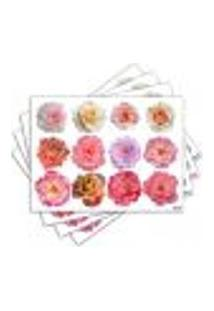 Jogo Americano - Flores Com 4 Peças - 789Jo