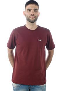 Camiseta Multcaps Mxc 004 Vinho