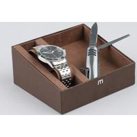 a20e8189667 Kit De Relógio Analógico Mondaine Masculino + Canivete - 99147G0Mvne1Kb  Prateado - Único
