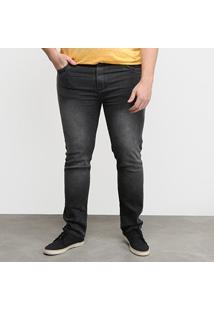 Calça Jeans Tbt Used Plus Size Masculina - Masculino