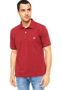 Camisa Polo Mr. Kitsch Vauvert Vinho
