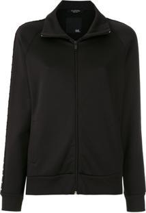 Valentino Suéter Com Bolsos - Preto