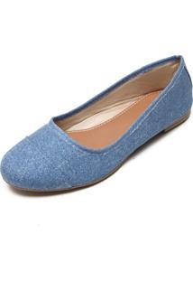 Sapatilha Dafiti Shoes Recortes Azul