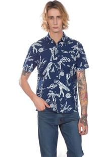 Camisa Levi'S® Short Sleeve Sunset One Pocket - L