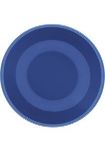 Conjunto 6 Pratos Fundos Oxford 20Cm Cerâmica Unni Blue Azul