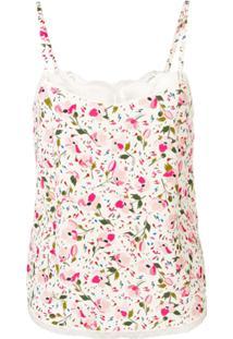 Zadig&Voltaire Blusa Fashion Show Floral - Neutro
