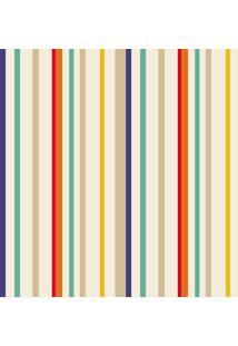 Papel De Parede Lymdecor Listra Rush Multicolorido