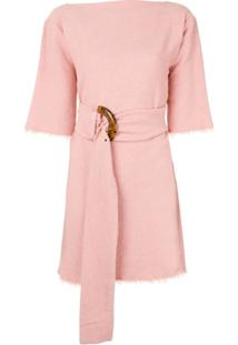 Bec + Bridge Vestido Ollie Mini - Rosa