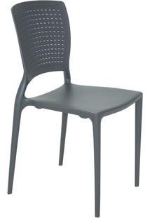 Cadeira Safira- Grafite- 84,5X43X52Cm- Tramontintramontina