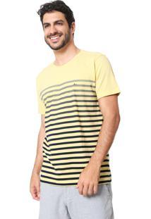 Camiseta Aramis Degradê Amarela