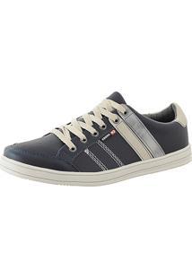 Tênis Sapatênis Cano Curto Cr Shoes Lançamento Azul