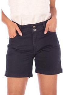 Bermuda Meia Coxa Sisal Jeans Feminina - Feminino