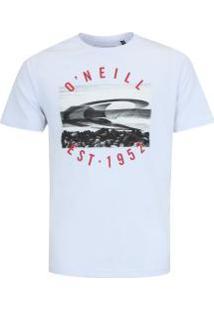 Camiseta O'Neill Galápagos - Masculina - Branco