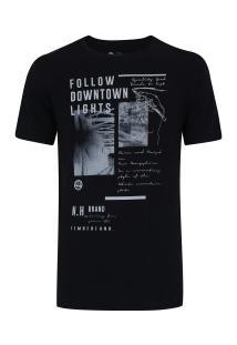Camiseta Timberland Downtown - Masculina - Preto