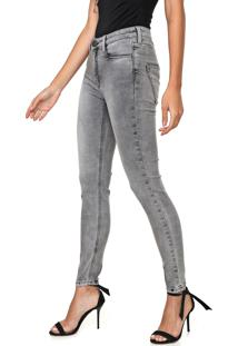 Calça Jeans Carmim Skinny Zwinger Cinza