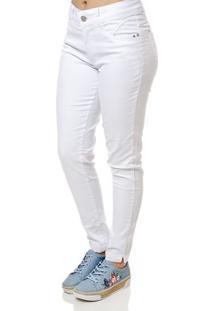 Calça Sarja Feminina Branco