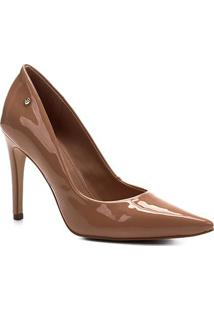 Scarpin Shoestock Salto Alto Naked - Feminino-Noz